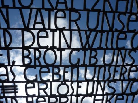 Raum der Sprache und des Wortes